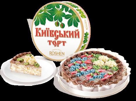 Торт Киевский, 850г - от компании ROSHEN
