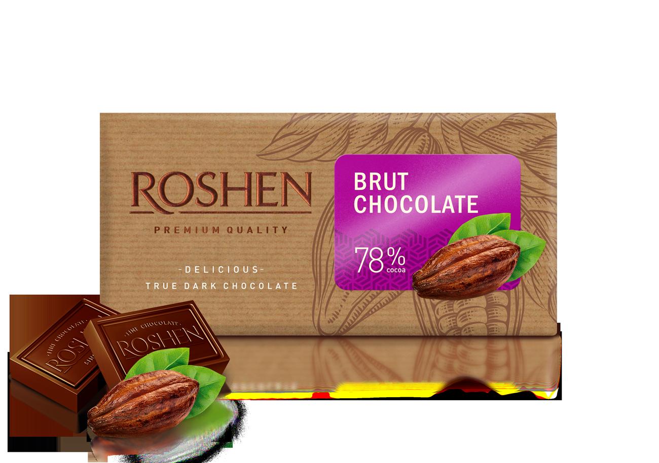 Шоколад Brut 80%  90 г