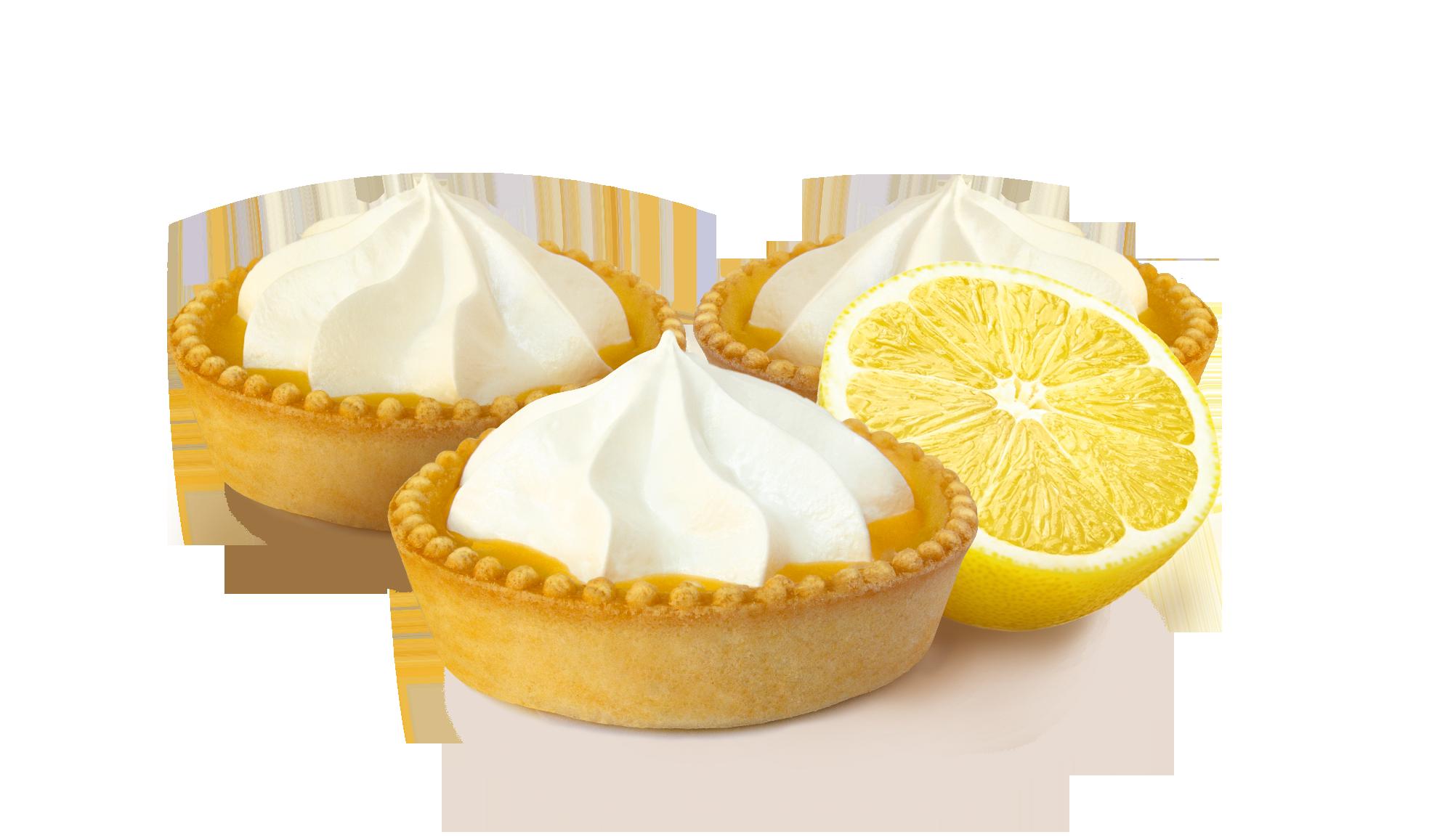 Тарти Лимонні, 4 шт 350 г