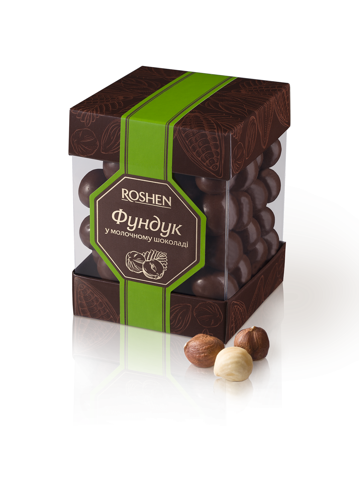 Фундук у молочному шоколаді 180 г