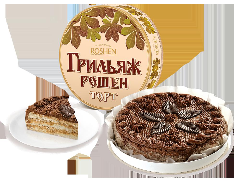 Торт Грильяж, 450г  450 г
