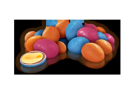Драже арахіс у молочному шоколаді та кольоровій глазурі 100 г