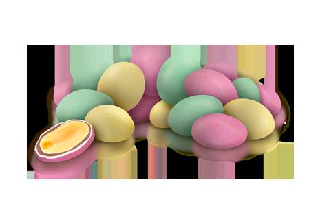 """Драже арахіс у молочному шоколаді та кольоровій глазурі """"пастель"""" 100 г"""