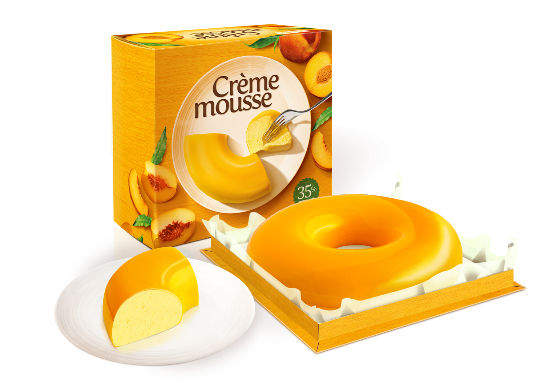 Десерт Creme Mousse Персиковий 810 г