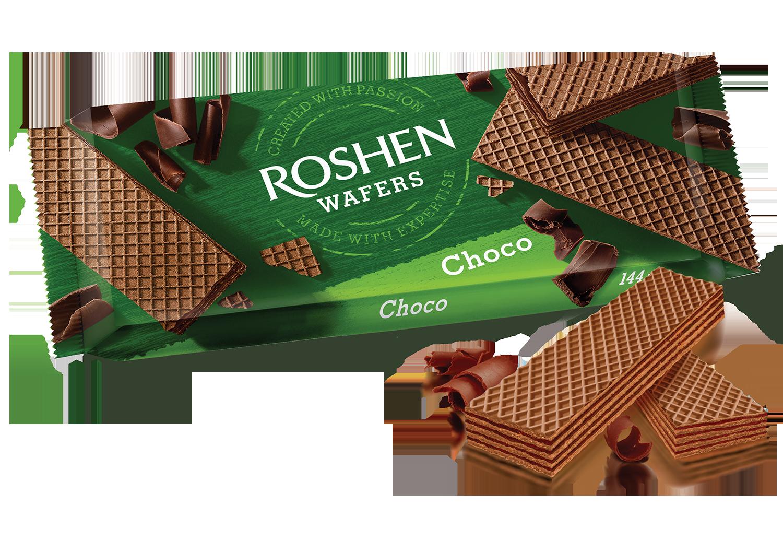 Вафлі Wafers шоколад 144 г