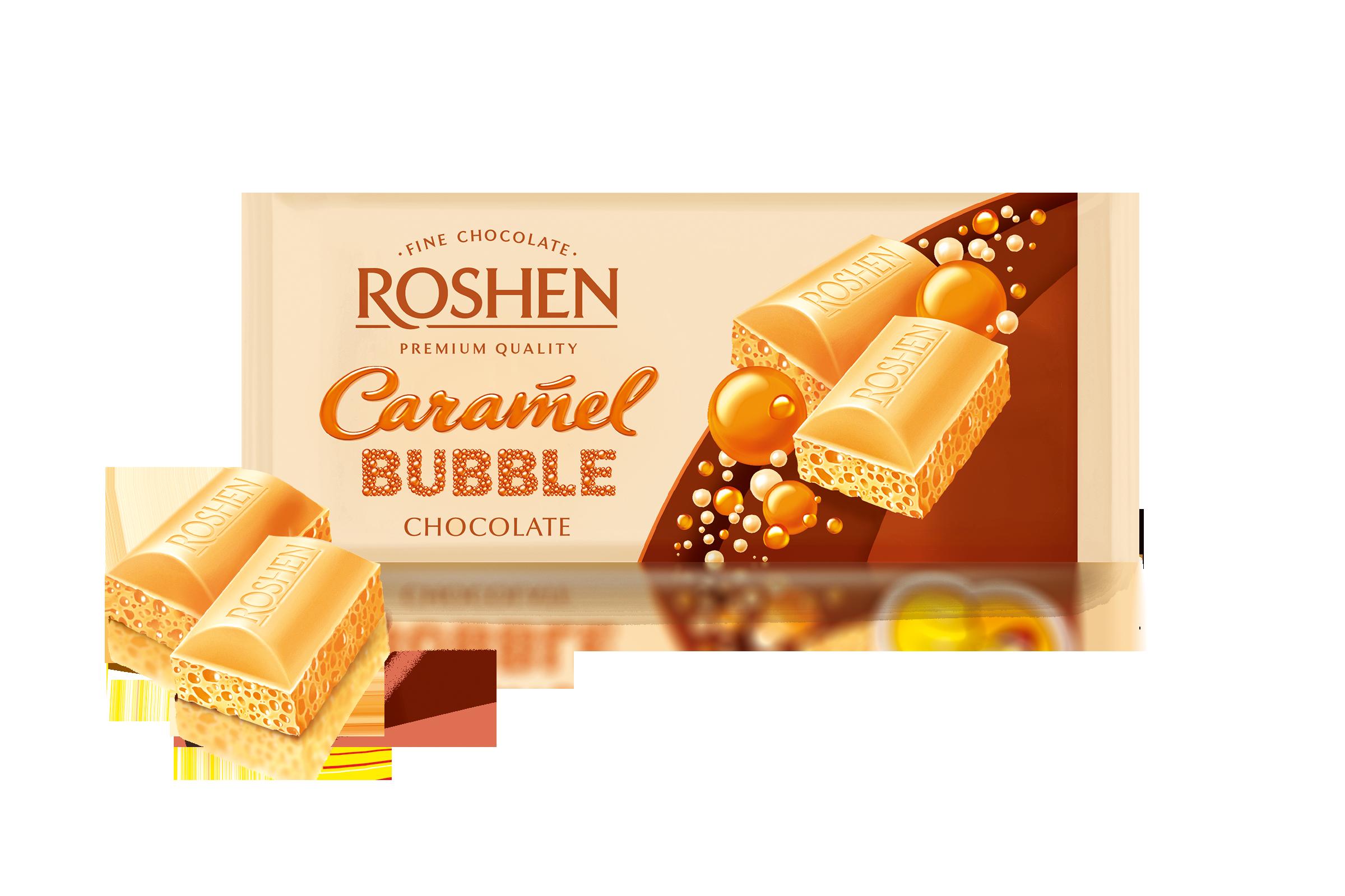 Шоколад пористий білий карамельний  80 г