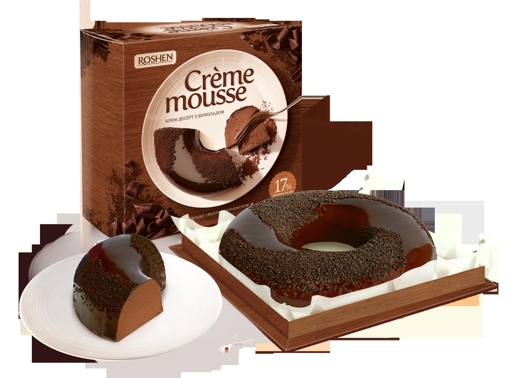 Десерт Creme Mousse з шоколадом 810 г