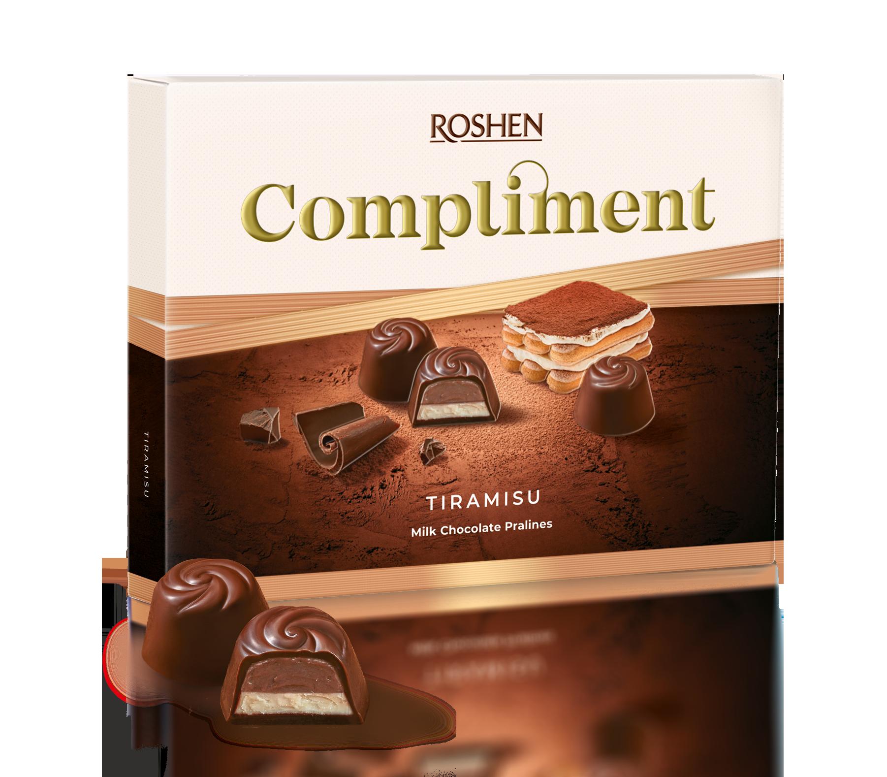 Compliment зі смаком Тірамісу 120 г