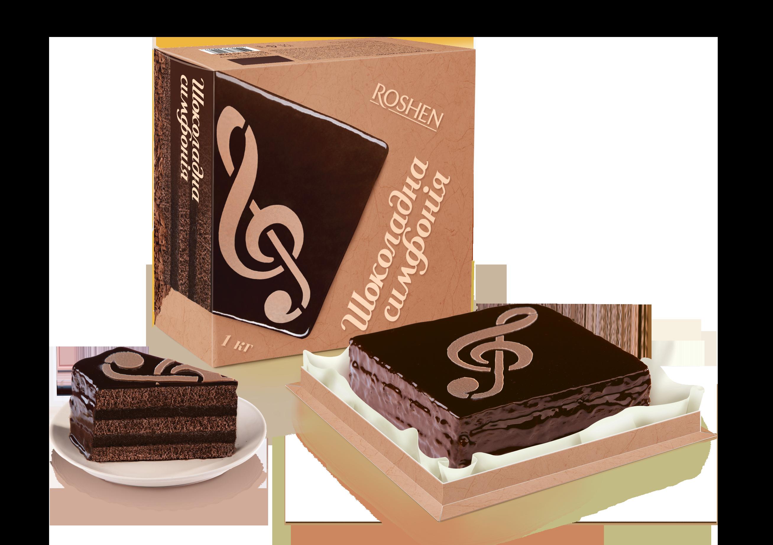 Торт Шоколадна симфонія 1 кг