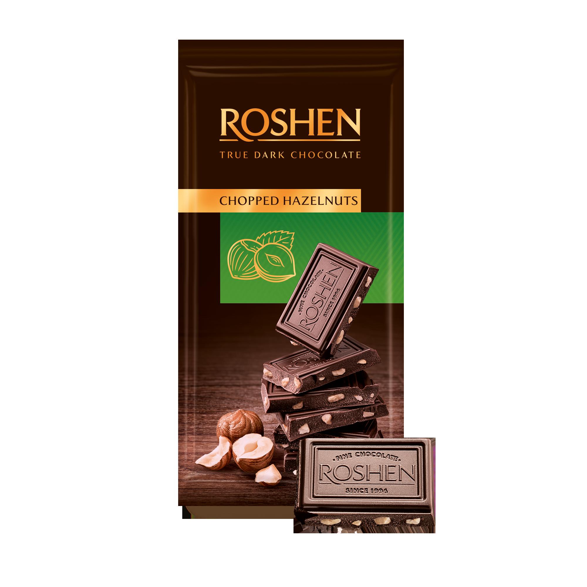 Шоколад Chopped hazelnuts з подрібненим лісовим горіхом 85 г