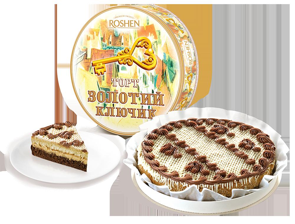 Торт Золотий Ключик, 850г 850 г
