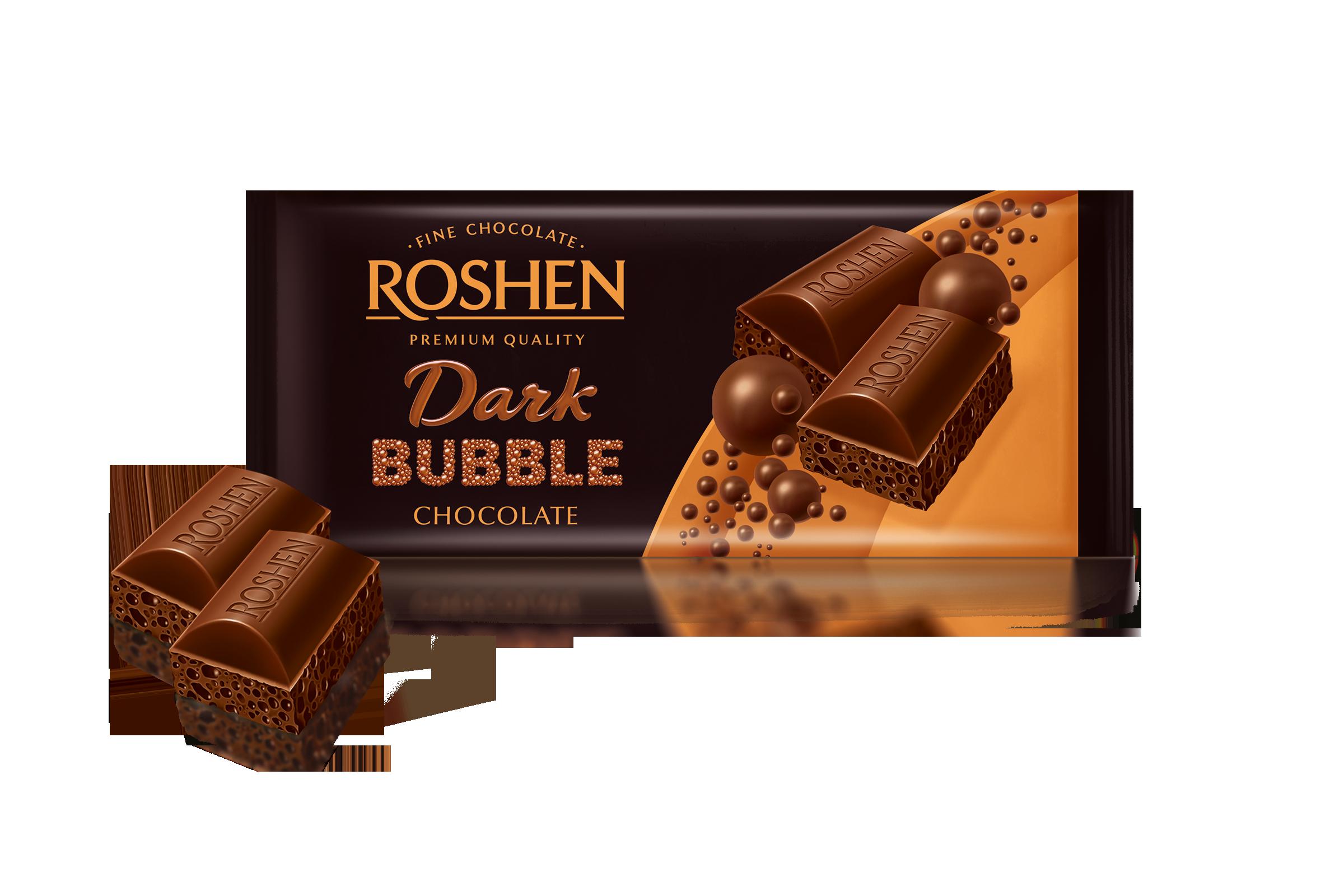 Шоколад пористий екстрачорний 80 г