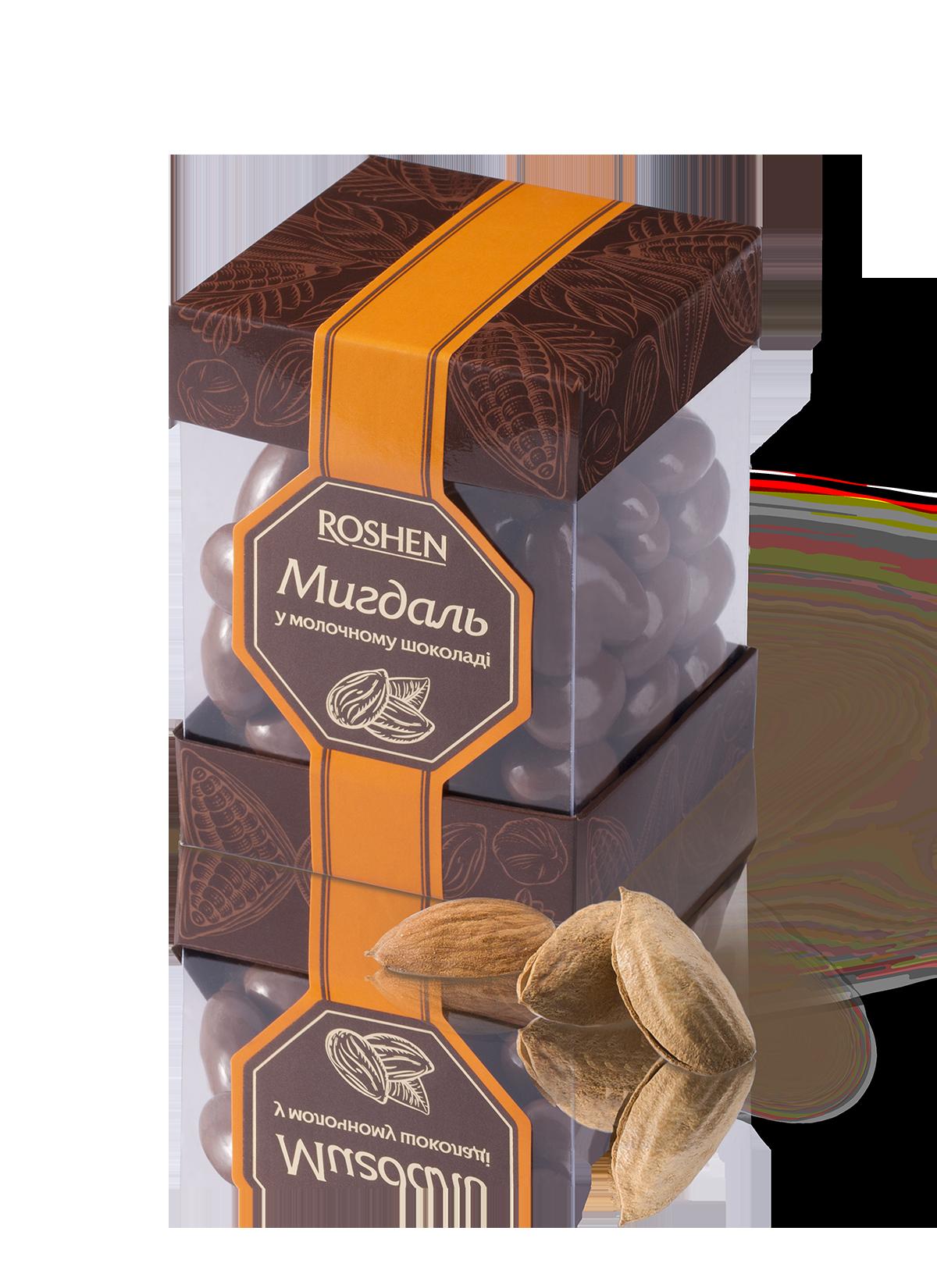 Мигдаль у молочному шоколаді 180 г
