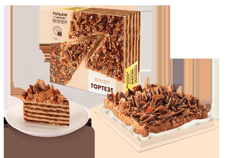 Торт Тортезе, 1кг 1 кг