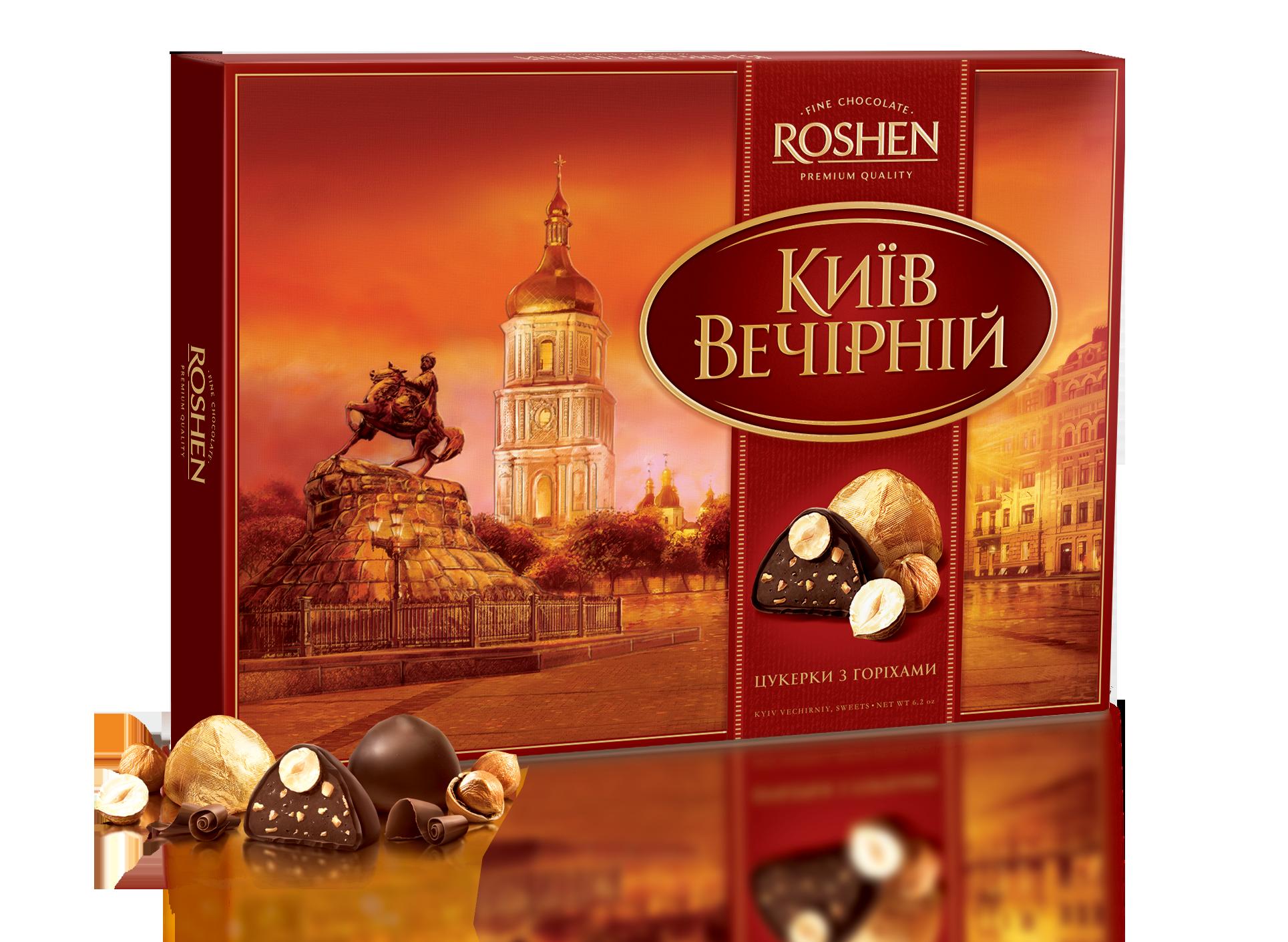 Цукерки Київ Вечірній 176 г