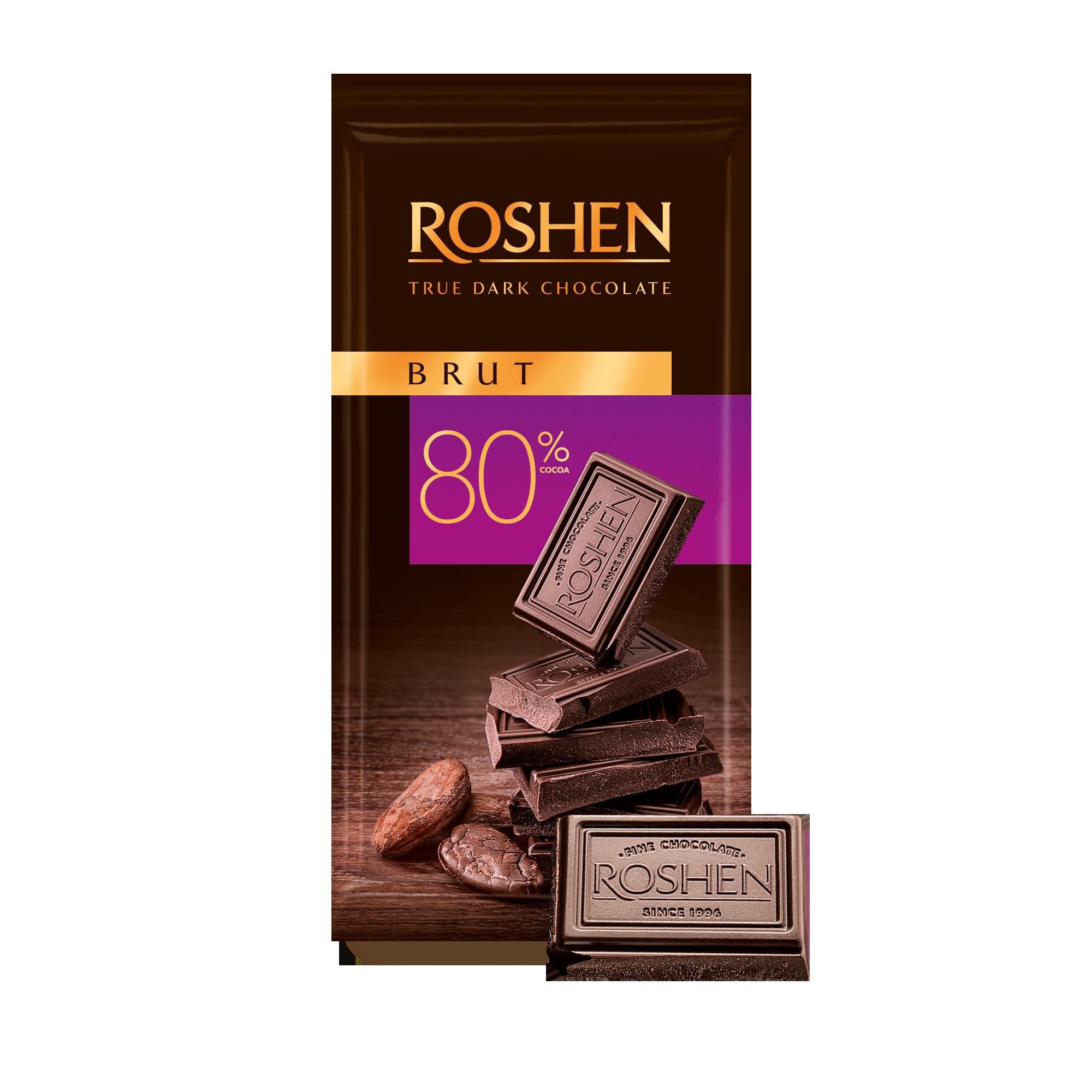 Шоколад Brut 80% 85 г